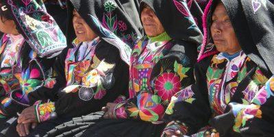 Traje Taquile, Lago Titi